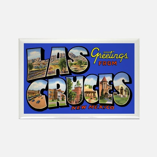 Las Cruces New Mexico Rectangle Magnet