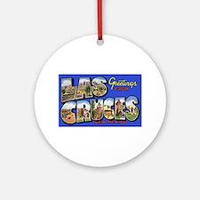 Las Cruces New Mexico Ornament (Round)
