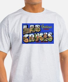 Las Cruces New Mexico (Front) Ash Grey T-Shirt