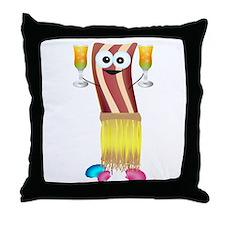 Bahama Bacon Throw Pillow