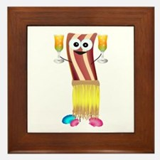 Bahama Bacon Framed Tile