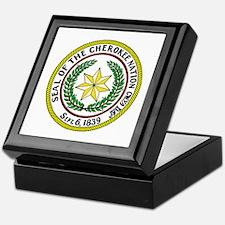Seal of Cherokee Nation Keepsake Box