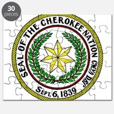 Seal of Cherokee Nation Puzzle