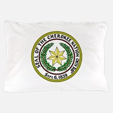 Seal of Cherokee Nation Pillow Case