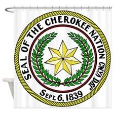 Seal of Cherokee Nation Shower Curtain