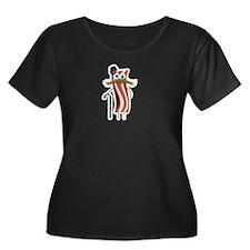 Fancy Bacon Plus Size T-Shirt