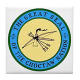 Choctaw Drink Coasters