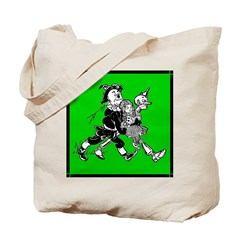 Scarecrow, Tin Man & Dorothy Tote Bag