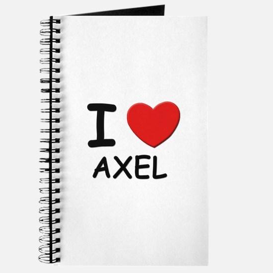 I love Axel Journal