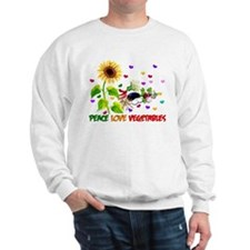 Peace Love Vegetables Sweatshirt