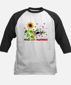 Peace Love Vegetables Tee