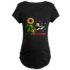 Peace Love Vegetables T-Shirt