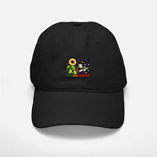 Peace Love Vegetables Baseball Hat