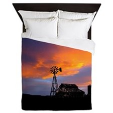 Sunset on the Farm Queen Duvet