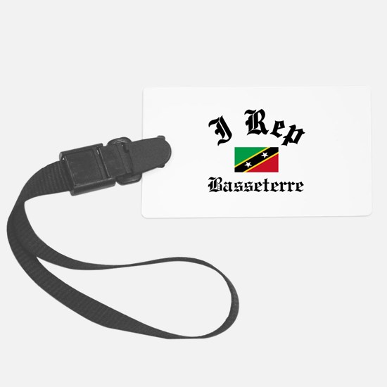 I rep Basseterre Luggage Tag