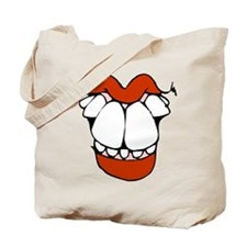 toothy smile 1 transparent.png Tote Bag