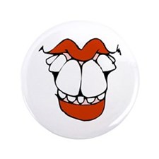 "toothy smile 1 transparent.png 3.5"" Button"