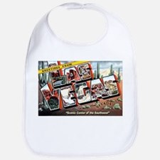 Las Vegas Nevada Greetings Bib