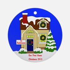 New/1st Home Personalized Christmas Ornament