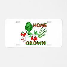 Home Grown Aluminum License Plate