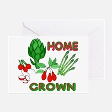 Home Grown Greeting Card