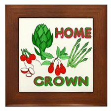 Home Grown Framed Tile