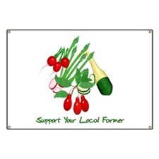 Support Your Local Farmer Banner