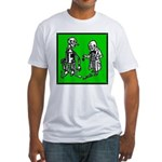 Tin Man's New Heart Fitted T-Shirt