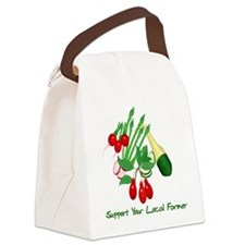 Support Your Local Farmer Canvas Lunch Bag