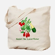 Support Your Local Farmer Tote Bag