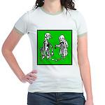 Tin Man's New Heart Jr. Ringer T-Shirt