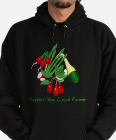 Support Your Local Farmer Hoodie (dark)