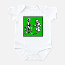 Tin Man's New Heart Infant Bodysuit