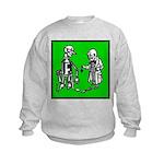 Tin Man's New Heart Kids Sweatshirt