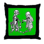 Tin Man's New Heart Throw Pillow