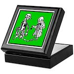Tin Man's New Heart Keepsake Box