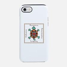 Turtle animal spirit iPhone 7 Tough Case