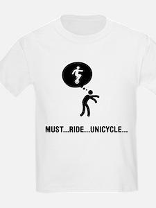 Unicycle Rider T-Shirt