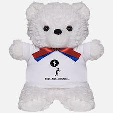 Unicycle Rider Teddy Bear