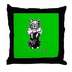 Toto Throw Pillow