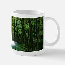 Waterfall in Azores Mug