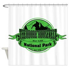 theodore roosevelt 3 Shower Curtain
