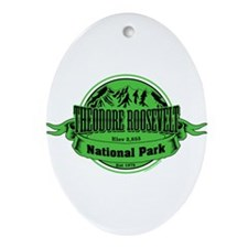 theodore roosevelt 1 Ornament (Oval)