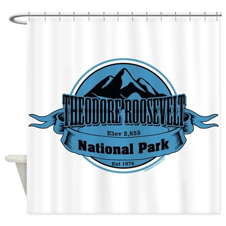 theodore roosevelt 4 Shower Curtain
