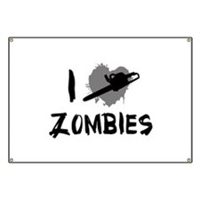 I Love Killing Zombies Banner