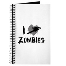 I Love Killing Zombies Journal