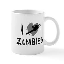 I Love Killing Zombies Mug