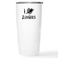 I Love Killing Zombies Travel Mug