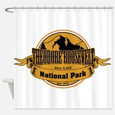 theodore roosevelt 3 Shower Curtain