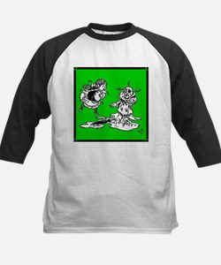 Wicked Witch is Dead Kids Baseball Jersey